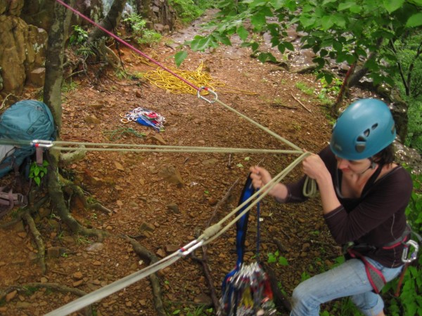 Anchor Building & Rappelling