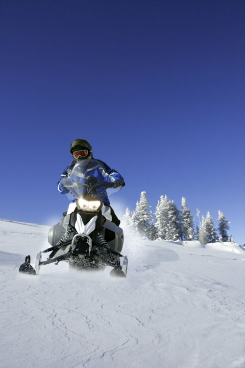 Snowmobile Safe Rider training and Avalanche AST training at OVERhang
