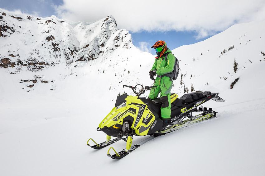 AST2 for sledders in Mackenzie, North Rockies