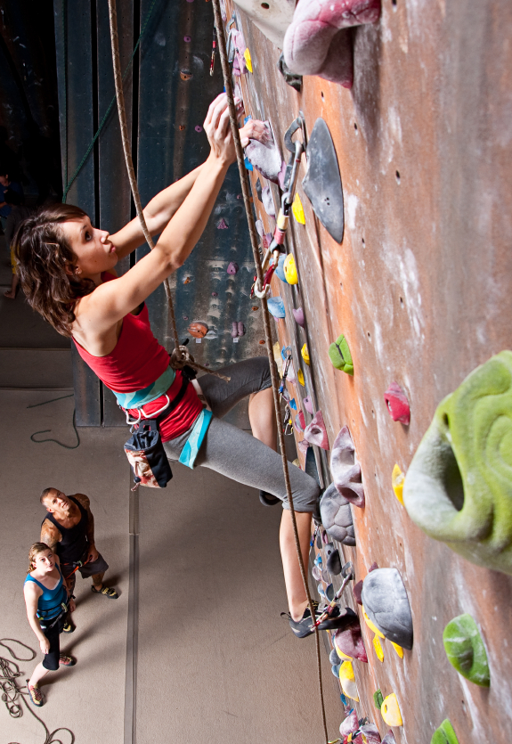 Top Rope Climbing - Indoor Climbing Gym